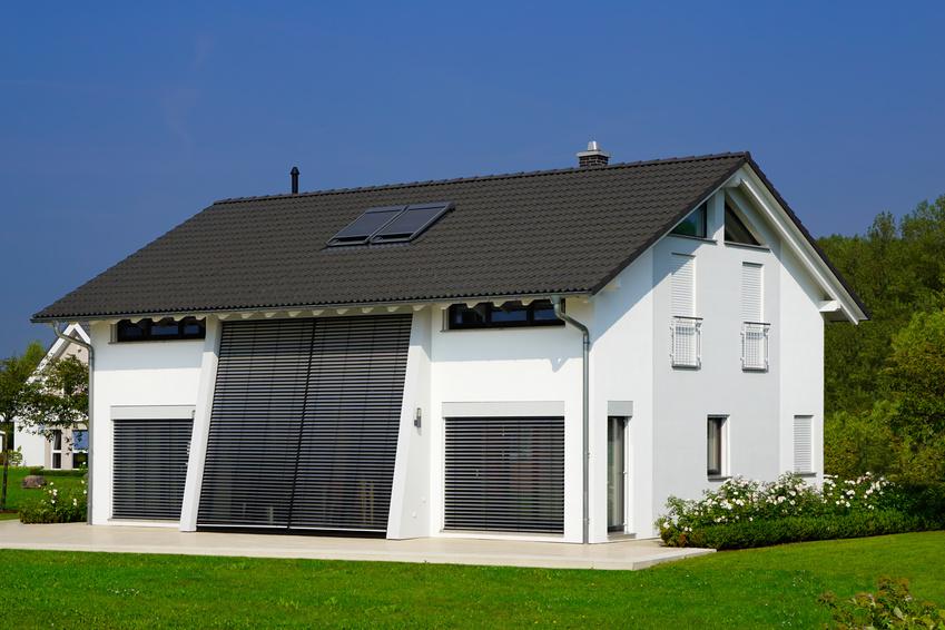 Einfamilienhaus mit Aussenjalousien